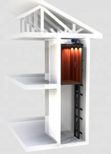 Instalación de ascensores unifamiliares en Valencia