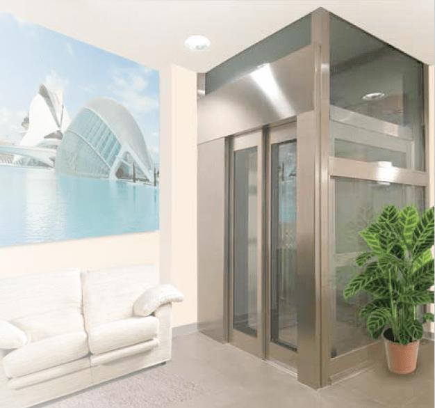 ascensores unifamiliares valencia - tecvalift